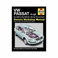 Haynes Manual VW Passat 2000-05 1.8 2.0 Petrol 1.9 Diesel Workshop Manual